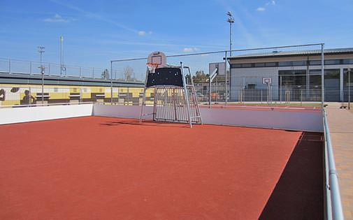 streetball and street soccer